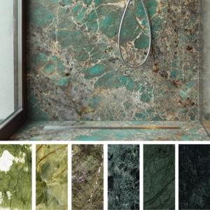 marmi e graniti verdi - arredo bagno e arredo casa
