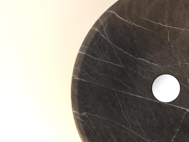 round circle grey