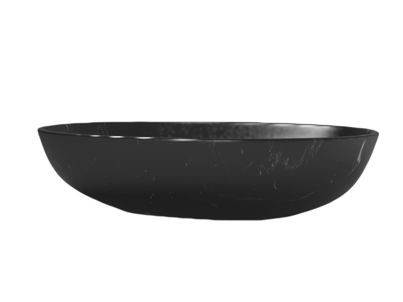 round oval marquina